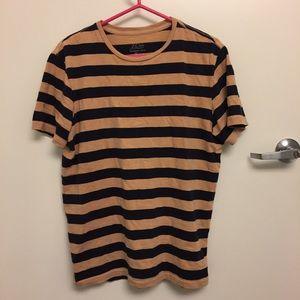 J CREW Striped T-Shirt - Men's Medium